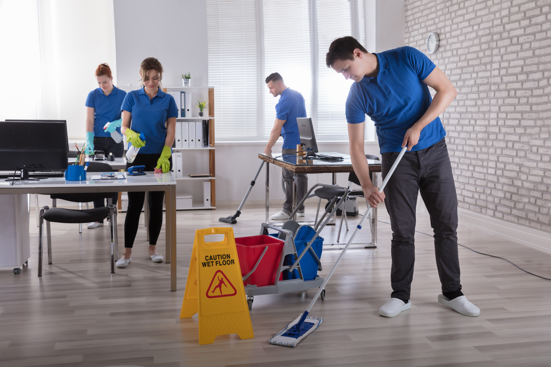 commercial cleaning businesses