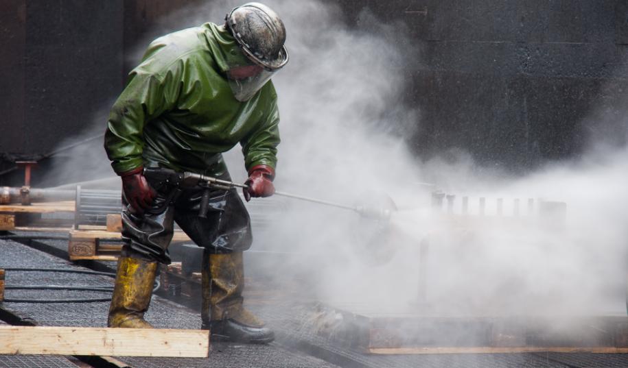 industrial pressure cleaning